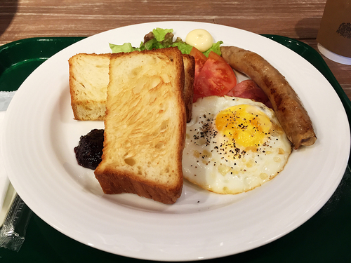 『カフェ グリーン トカチ』の「朝食セット」02.jpg